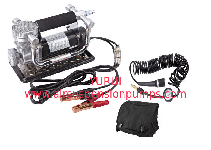 Portable Fast Inflation Powerful Chrome 12V Car Air Compressor Kit For Tire