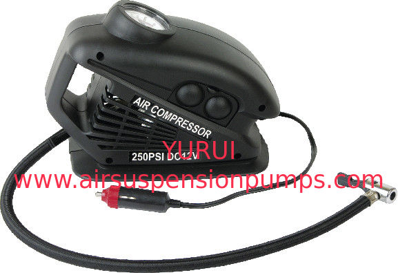 Portable Plastic Black With Hand Held  DC12V Car AIr Comressor For All Types Of Vehicle