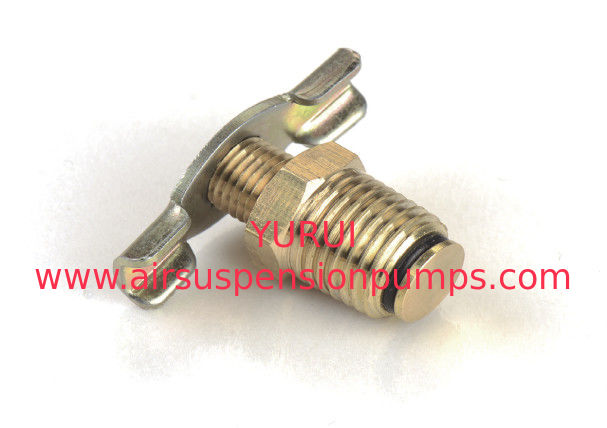 Metal Air Compressor Fittings Drain Cock OF Air Suspension Tank