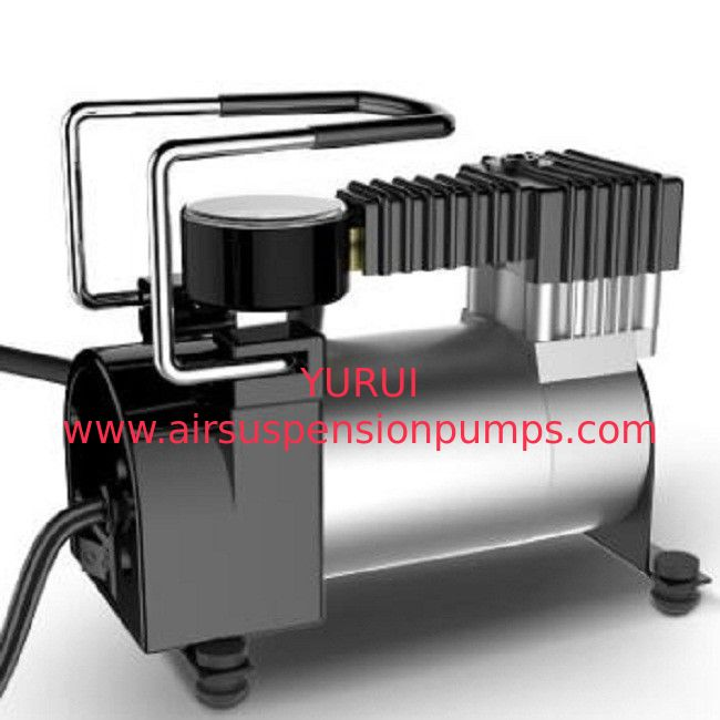 Metal Vehicle Air Compressors Silver Color With Ce Rohs Certification