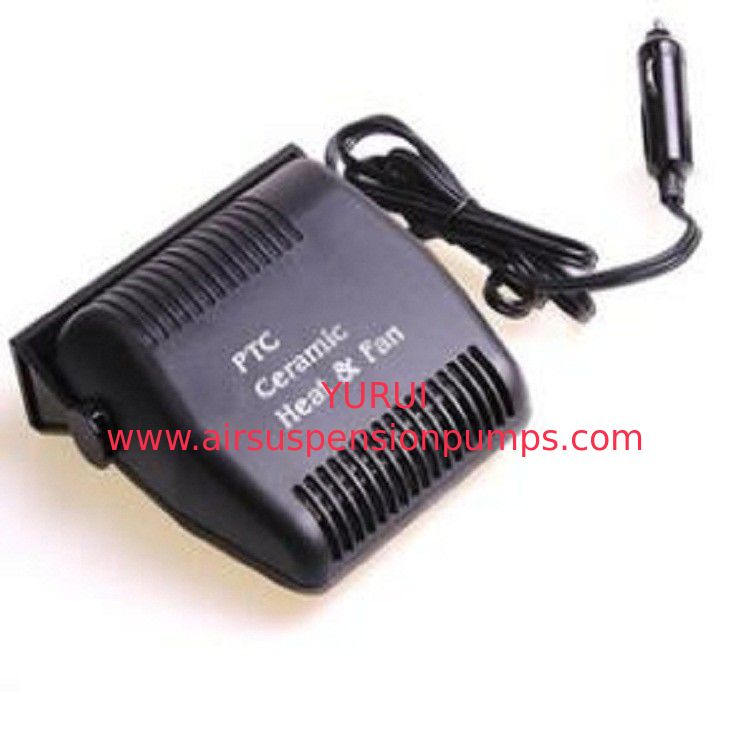 Oem Black Handheld Rechargeable Car Heater , Dc12v Plug In Heater For Car