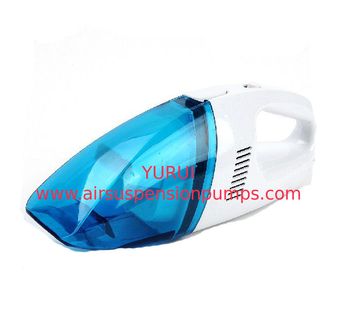 0.7kgs Handheld Rechargeable Vacuum Cleaner 12v Dc Blue White Color With Adaptor