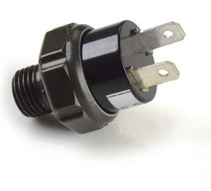 De zwarte Pneumatische Montage van de Luchtpomp/Plastic 12v-de drukschakelaar van de luchtcompressor
